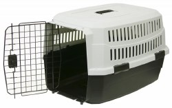 Pet Kennel Xs 19inch Blk/Gray
