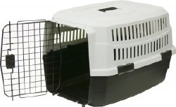 Pet Kennel Sm 23 Inch Blk/Gray