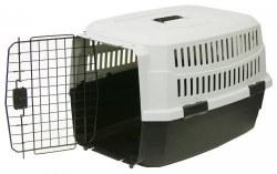 Pet Kennel Med 28 In Blk/Gray