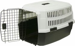 Pet Kennel Large 36 Blk/Gray