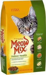 Meow Mix Indoor Health Dry Cat Food 3.15lb