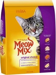 Meow Mix Original Choice Dry Cat Food 16lb