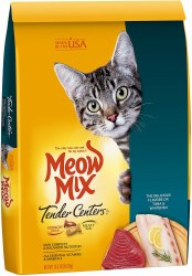 Meow Mix Tender Centers Tuna and Whitefish Dry Cat Food 13.5lb