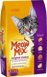 Meow Mix Original Choice Dry Cat Food 6.3lb