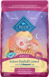 Blue Buffalo Indoor Hairball Control Chicken & Brown Rice Recipe Adult Dry Cat Food 15lb