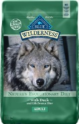 Blue Buffalo Wilderness Duck Recipe Grain Free Dry Dog Food 24lb