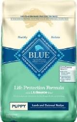 Blue Buffalo Life Protection Formula Puppy Lamb and Oatmeal Recipe Dry Dog Food 30lb