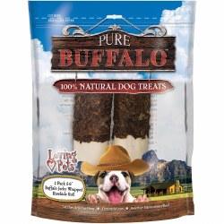 Pure Buffalo Wrap Rawhide 2pk