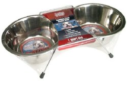 1 Quart Stainless Steel Double Diner