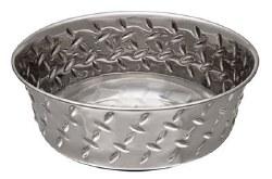 Diamond Plate Bowl NoSkid Pint