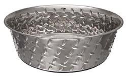 Diamond Plate Bowl NoSkid 3Qt