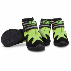 All Road Boots Green Lrg