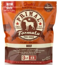 Primal Frzn Raw BeefNuggets3lb