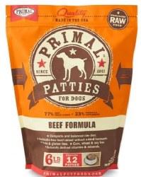 Primal Frzn Raw BeefPatties6lb