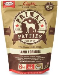 Primal Frzn Raw LambPatties6lb