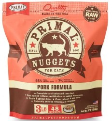 Primal FrznRaw Pork Nugget3lb