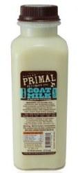 Primal Raw Goat Milk 1 Pt