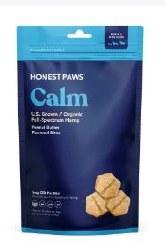 Calming Bites 8oz CBD DogTreat
