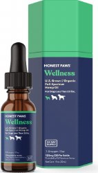 CBD Oil For Dogs 125mg Level 1