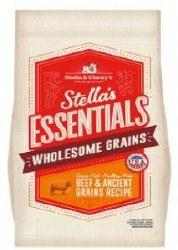 Stella Essentials W/Ancient Grains & Beef 25lb