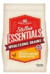 Stellas Essentials WAncient Grains & Chicken 25lb