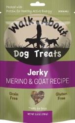 Walk About Jerky Goat Recipe Dog Treats 7oz