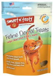 Smart N' Tasty Grain Free Chicken Dental Treats 3oz
