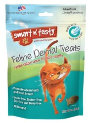 Smart N' Tasty Grain Free Whitefish Dental Treats 3oz