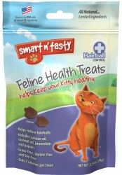 Smart N' Tasty Grain Free Hairball Treats 3oz