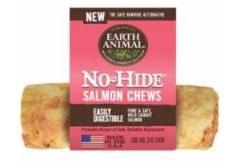 Earth Animal No Hide 4 Inch Salmon Chew