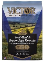 Victor Select Beef Meal & Brown Rice Dry Dog Food 15lb