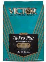Victor Hi Pro Plus Formula Dry Dog Food 15lb