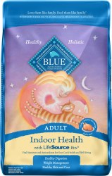 Blue Buffalo Indoor Health Chicken and Brown Rice Recipe Adult Dry Cat Food 15lb