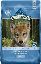 Blue Buffalo Wilderness Puppy Chicken Recipe Grain Free Dry Dog Food 24lb
