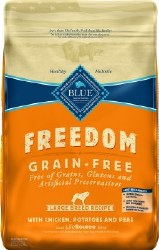 Blue Buffalo Freedom Large Breed Adult Chicken Recipe Grain Free Dry Dog Food 24lb
