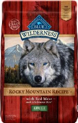 Blue Buffalo Wilderness Rocky Mountain Recipe with Red Meat Large Breed Grain Free Dry Dog Food 22lb