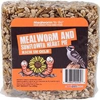Mealworm Sunflower Pie 7oz
