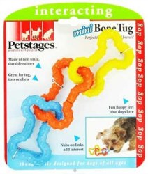 Pet Stages Rubber Bone Tug