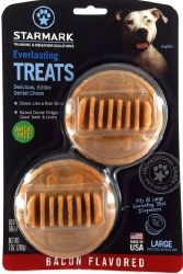 Starmark Everlasting Dental Treats Bacon Large 2pk
