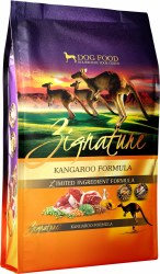 Zignature Kangaroo Limited Ingredient Formula Grain Free Dry Dog Food 4lb