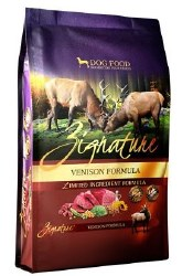 Zignature Venison Dry Dog Food 27lb