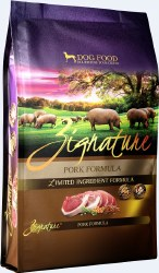 Zignature Pork Limited Ingredient Formula Grain Free Dry Dog Food 27lb