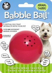 Babble Ball Anml Sound Md Rd/Y
