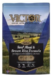 Victor Select Beef Meal and Brown Rice Dry Dog Food 5lb