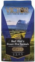 Victor Select Beef Meal and Brown Rice Dry Dog Food 40lb