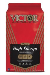 Victor High Energy Formula Dry Dog Food 40lb