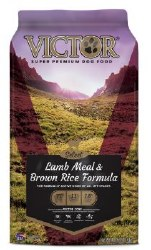 Victor Select Lamb Meal and Brown Rice Dry Dog Food 40lb