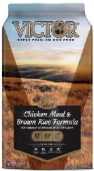 Victor Select Chicken Meal and Brown Rice with Lamb Meal Dry Dog Food 40lb