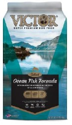 Victor Select Ocean Fish Formula with Alaskan Salmon Dry Dog Food 40lb
