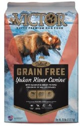 Victor Yukon River Salmon and Sweet Potato Grain Free Dry Dog Food 30lb